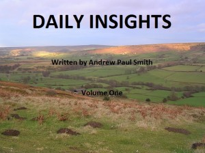 Daily Insights Volume One Cover